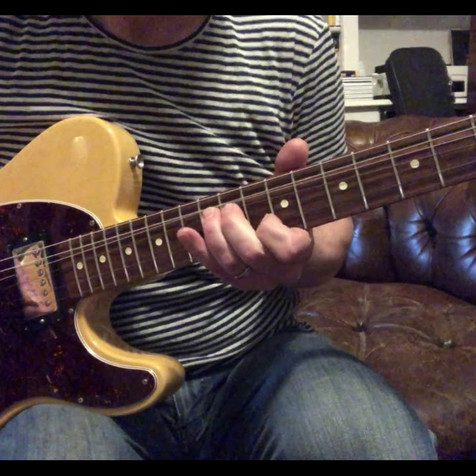 2011 Fender Graham Coxon Tele, Charmless Man Intro
