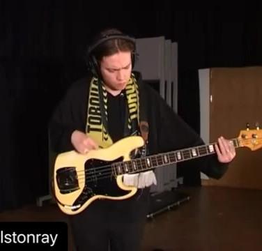 Charlston Ray 1976 Fender Jazz