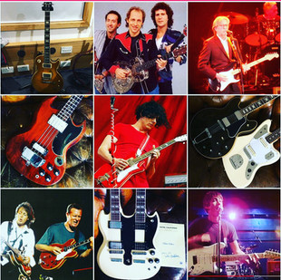 God's Own Guitars Top 9 Instagram Posts 2020