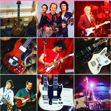 God's Own Guitars Top 9 Instagram Posts 2020