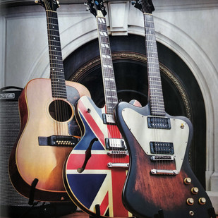 Guitarist Magazine, God's Own Guitars