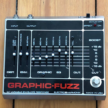 2005 Electro-Harmonix Graphic Fuzz Graphic Equalizer, with Overdrive & Envelope