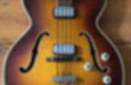 Hofner Presdent Bass 1964 Stuart Sutcliffe