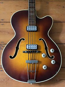 1964 Hofner President Bass Guitar