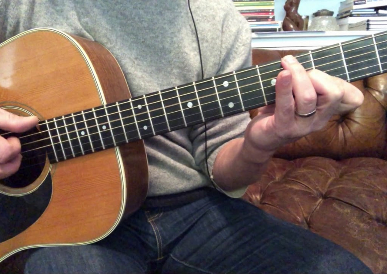 1974 Martin D-28, Travis Picking to Dear Prudence.