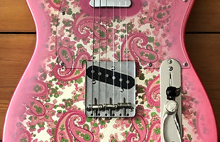 1996 Fender Pink Paisley Telecaster