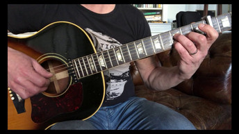 1963 Gibson J-160E, Back To The Old House