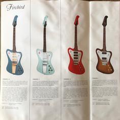 1967 Gibson Catalogue, Firebirds