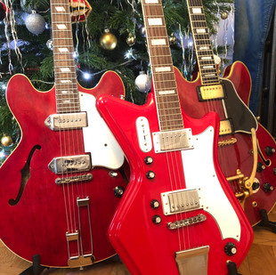 Three Wise Men 2019 - Three Red Guitars