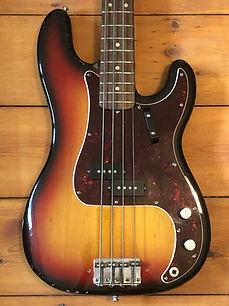 1972 Fender Precision Bass Guitar