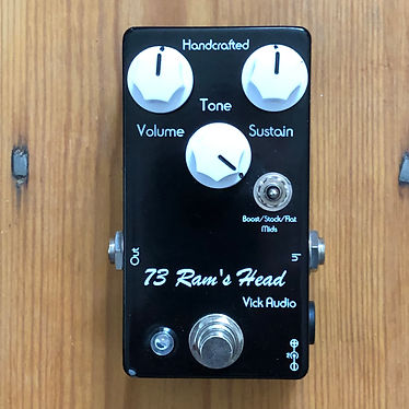 "2017 Vick Audio 73 Ram's Head ""Big Muff"" Sustain To Serve A Prison Sentence To"