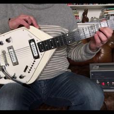 1966 Vox V251 Guitar Organ Demo