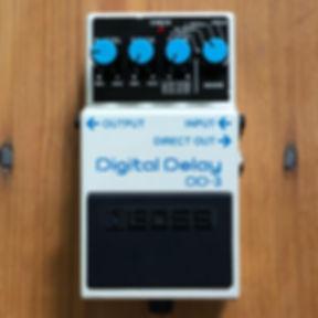2009 Boss DD-3 Digital Delay Pedal