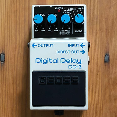 2009 Boss DD-3 Digital Delay Next Up From The Original  DD-2, The First Compact Delay