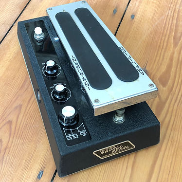 1970s Shaftesbury Squall HA-9P Pioneering Volume/Wah Multi-Effects Pedal