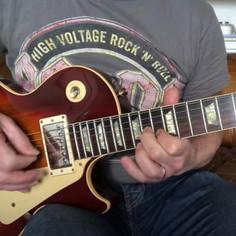 Robert Young's 1989 Gibson Les Paul, Jailbird & Rocks