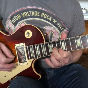 Robert Young's 1989 Gibson Les Paul, Jailbird & Rocks