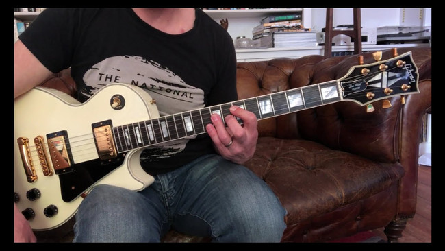 1990 Gibson Les Paul Custom, Motorcycle Emptiness vs Crazy Train
