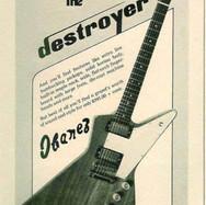 1976 Ibanez 2459 Destroyer Ad