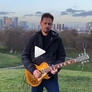 1996 Gibson Les Paul Classic Goldtop, Dan Reis