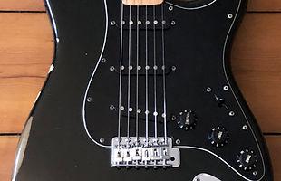1979 Fender Black Stratocaster