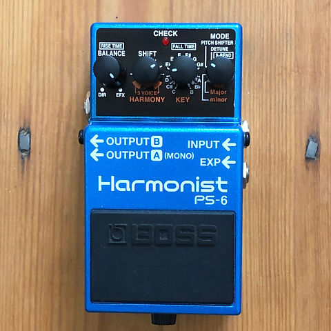 Boss Harmonist PS-6 Pitch Shifter