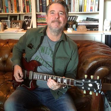 Kimberley Rew's 1989 Gibson SG 62 Reissue, Allan Beattie