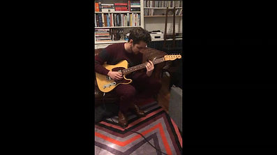 Fender Graham Coxon Tele Video