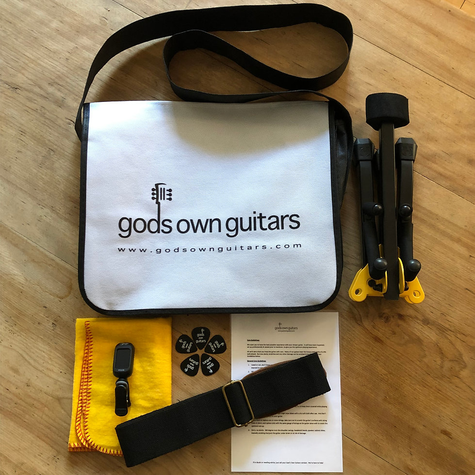 God's Own Guitars Hire Support Pack