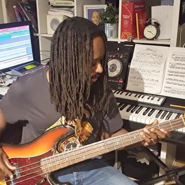 1972 Fender Precision Bass Rich Vanderpuije