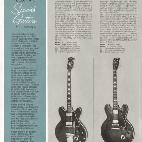1964 Gibson Catalogue, ES-345TDC