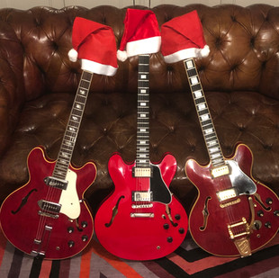 Three Wise Men 2018 - Three Red Guitars