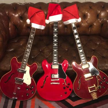 Three Wise Men 2018 - Three Red Guitars