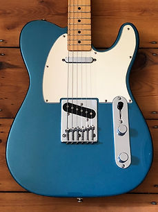 1992 Fender Telecaster Mexican Standard Electric Guitar