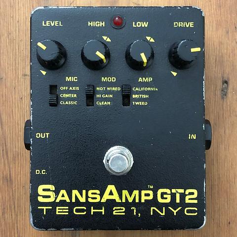 SansAmp GT2 Tech21 Tube Amp Emulator