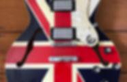 Epiphone Union Jack Supernova Oasis
