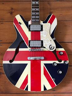 2002 Epiphone Union Jack Supernova Semi-Acoustic Guitar