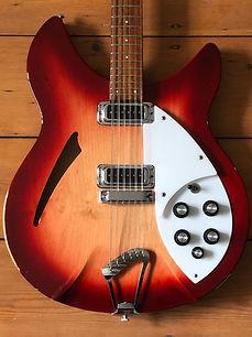 1989 Rickenbacker 330/12 Semi-Acoustic Guitar