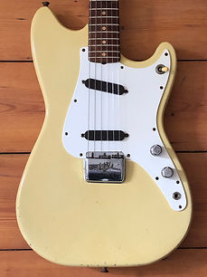 1962 Fender Duo-Sonic Electric Guitar