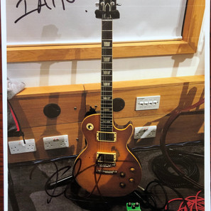 Kirk Hammett Les Paul Greeny, previously owned by Peter Green and Gary Moore
