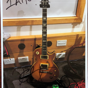 Kirk Hammett's Les Paul Greeny, previously owned by Peter Green and Gary Moore