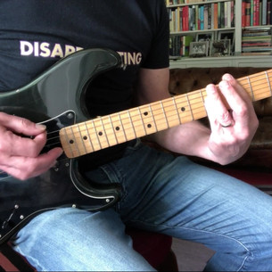 1979 Fender Stratocaster, Sunday Bloody Sunday