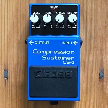 2017 Boss Compression Sustainer CS-3 Favourite Of So Many Dynamic Guitarists