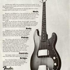 1972 Fender Precision Bass P-Bass