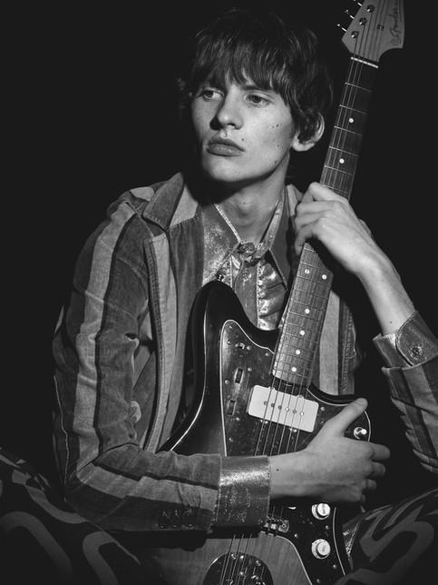 62 Reissue Fender Jazzmaster, by photographer Peter Smith