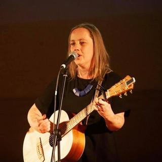 Helen Wright performs an original song