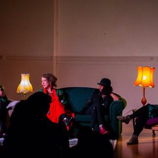 Panel at Creative Conversations, 2018