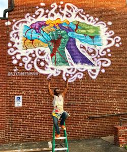New Black Lives Matter Mural