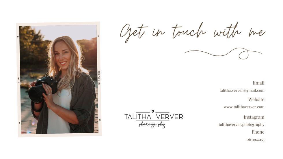 (c) Talitha Verver