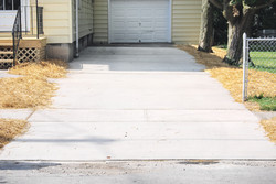 FINISHED - Concrete Driveway